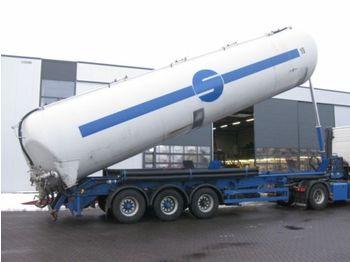 SPITZER KIPSILO AUFLIEGER 60M3 - gjysmërimorkio me bot