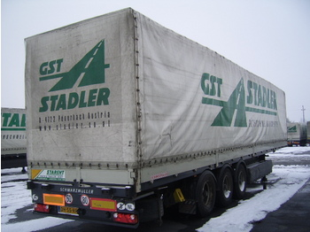 SCHWARZMÜLLER Bordwandtrailer - gjysmërimorkio me perde anësore