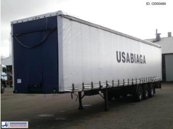 Traylona 3-axle curtain side trailer 36000KG - gjysmërimorkio me perde anësore