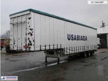 Traylona 3-axle jumbo curtain side trailer / 57500 KG - gjysmërimorkio me perde anësore