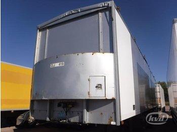 Tyllis 4PPN 4-axlar Semi-trailer - gjysmërimorkio me perde anësore