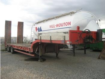 ASCA Machine carrier semi trailer - gjysmërimorkio me plan ngarkimi të ulët