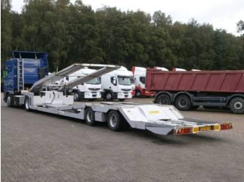 GS Meppel 2-axle Truck / Machinery transporter - gjysmërimorkio me plan ngarkimi të ulët