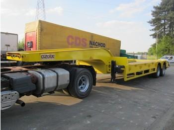 OZGUL 45 ton T/A Lowboy - gjysmërimorkio me plan ngarkimi të ulët