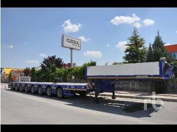 Ozgul 120 Ton 8 Axle - gjysmërimorkio me plan ngarkimi të ulët