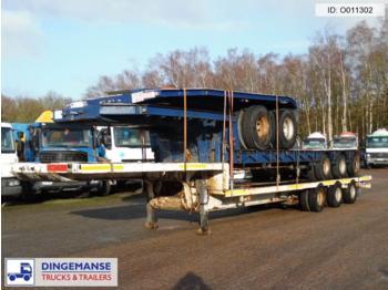 Traylona 3-axle semi-lowbed trailer 62000kg / ext. 16 m - gjysmërimorkio me plan ngarkimi të ulët