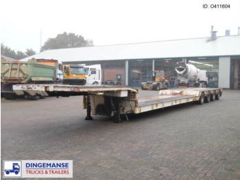 Traylona 4-axle lowbed trailer 77000KG / Extendable 29M - gjysmërimorkio me plan ngarkimi të ulët