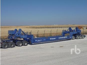 Traylona PFCAR70004E 60 Ton 4/Axle 4 Row Of 4 - gjysmërimorkio me plan ngarkimi të ulët
