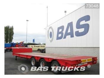 Traylona Steelsuspension Hardholz Boden PGE-2X136 - gjysmërimorkio me plan ngarkimi të ulët