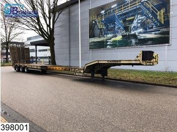 Verem Lowbed 42500 KG, Total 12.63 - 17.63 mtr, Steel suspension, Lowbed - gjysmërimorkio me plan ngarkimi të ulët