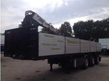 GS Meppel Stenenoplegger OTIB 120-3000 - gjysmërimorkio me platformë