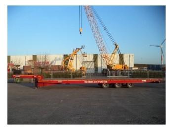OZGUL L12 Moving Axle 50 Ton (New) - gjysmërimorkio me platformë
