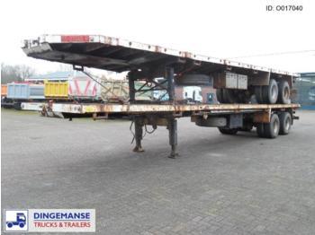 Traylona 2-axle Platform 50000KG / Extendable 22M - gjysmërimorkio me platformë