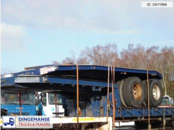 Traylona 2-axle platform trailer + 4-axle Dolly 117000 KG - gjysmërimorkio me platformë