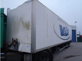 ASCA KOFFER - gjysmërimorkio me vagonetë të mbyllur