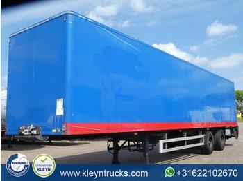 Chereau 2 AXLES CLOSED BOX taillift - gjysmërimorkio me vagonetë të mbyllur