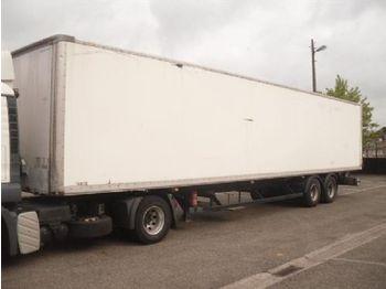 DIV. ASCA 2-axles 8 Tires - gjysmërimorkio me vagonetë të mbyllur