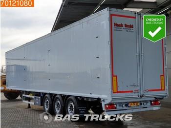 Gjysmërimorkio me vagonetë të mbyllur Knapen K100 92m3 10mm Floor