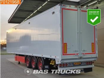 Gjysmërimorkio me vagonetë të mbyllur Knapen K100 92m3 10mm Floor Top Condition! Liftaxle Palletbox