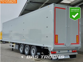 Gjysmërimorkio me vagonetë të mbyllur Knapen K100 92m3 6mm Floor 3 axles *New Unused*
