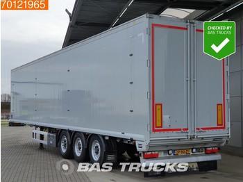 Gjysmërimorkio me vagonetë të mbyllur Knapen K100 92m3 6mm Floor Liftaxle