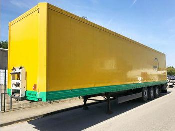 Gjysmërimorkio me vagonetë të mbyllur Krone SDK 27 Koffer Doppelstock Lift