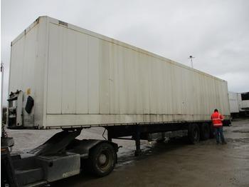 Gjysmërimorkio me vagonetë të mbyllur Krone Van
