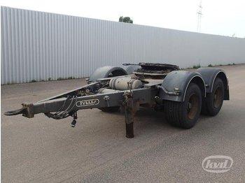 Tyllis 18 ton  - gjysmërimorkio me vagonetë të mbyllur