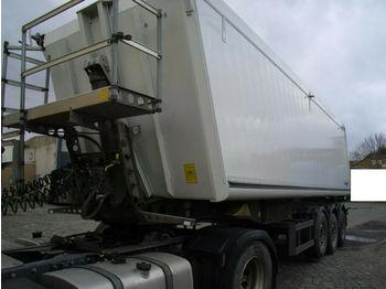 Schmitz Cargobull 44m3 + Plane + Alu+ 1.Hd.+ 6000 KG Leergewicht  - gjysmërimorkio vetëshkarkuese