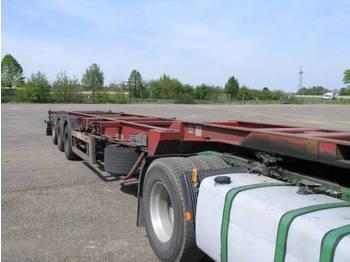 Guillen Containerchassis TÜV Bremse neu High Cub - gjysmërimorkio