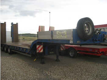 KAISER Machine carrier semi trailer - gjysmërimorkio