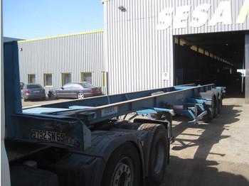 ASCA 3 Achsen - transportjer kontejnerësh/ gjysmërimorkio me karroceri të çmontueshme