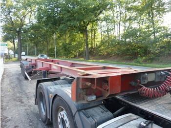 ASCA 3-Achsen S322 D138 SE - transportjer kontejnerësh/ gjysmërimorkio me karroceri të çmontueshme