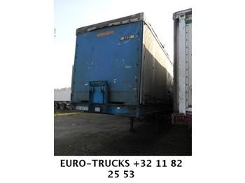 ASCA 3-Achsen WITH CONTAINER - transportjer kontejnerësh/ gjysmërimorkio me karroceri të çmontueshme
