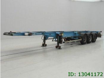 ASCA Air Ride  - transportjer kontejnerësh/ gjysmërimorkio me karroceri të çmontueshme