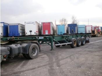ASCA CONTAINER SEMI TRAILER - transportjer kontejnerësh/ gjysmërimorkio me karroceri të çmontueshme