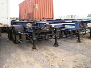 ASCA CONTAINER TRAILER - transportjer kontejnerësh/ gjysmërimorkio me karroceri të çmontueshme