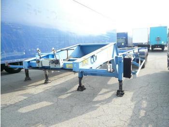 ASCA PORTE CONTAINER SPECIAL CITERNE 20 PIEDS - transportjer kontejnerësh/ gjysmërimorkio me karroceri të çmontueshme