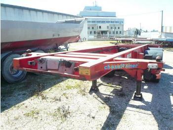 ASCA PORTE CONTAINER TIREUSE CROCHET - transportjer kontejnerësh/ gjysmërimorkio me karroceri të çmontueshme