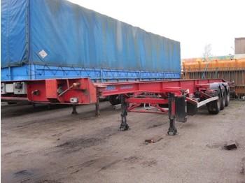 ASCA S322D138S2 - transportjer kontejnerësh/ gjysmërimorkio me karroceri të çmontueshme