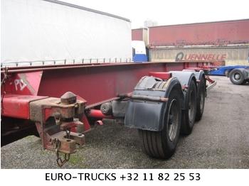 ASCA S322D1 5 STUCK - transportjer kontejnerësh/ gjysmërimorkio me karroceri të çmontueshme