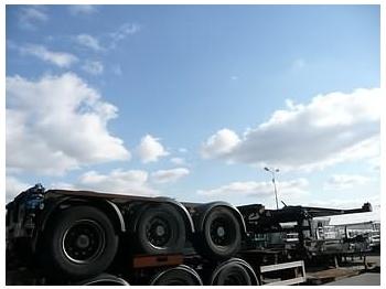 BROSHUIS 3 UCC 39 EU - transportjer kontejnerësh/ gjysmërimorkio me karroceri të çmontueshme