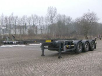 Broshuis 3UCC-39 - transportjer kontejnerësh/ gjysmërimorkio me karroceri të çmontueshme
