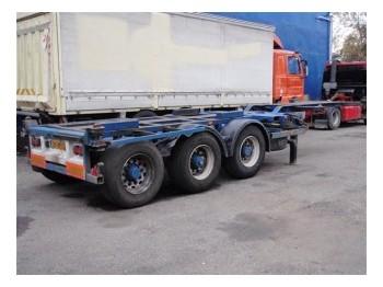 Broshuis 3UCC 39 - transportjer kontejnerësh/ gjysmërimorkio me karroceri të çmontueshme