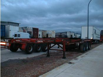 Broshuis CK7/47B - transportjer kontejnerësh/ gjysmërimorkio me karroceri të çmontueshme