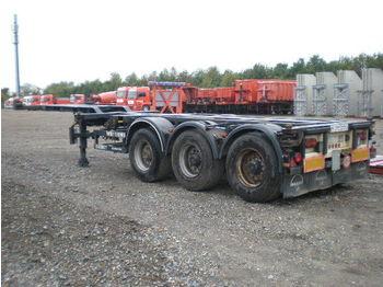 Broshuis Container chassis - transportjer kontejnerësh/ gjysmërimorkio me karroceri të çmontueshme