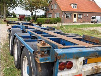 Broshuis (Holland) 3UCC 39 - transportjer kontejnerësh/ gjysmërimorkio me karroceri të çmontueshme