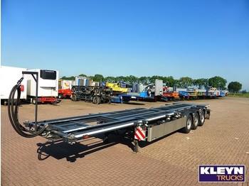 GS Meppel MULTI TIPPER ALL CONNECTIONS 90 D - transportjer kontejnerësh/ gjysmërimorkio me karroceri të çmontueshme