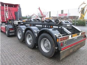 GS Meppel OI-180-2700 - transportjer kontejnerësh/ gjysmërimorkio me karroceri të çmontueshme
