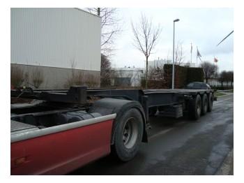 Schwarzmuller L16/72E - transportjer kontejnerësh/ gjysmërimorkio me karroceri të çmontueshme